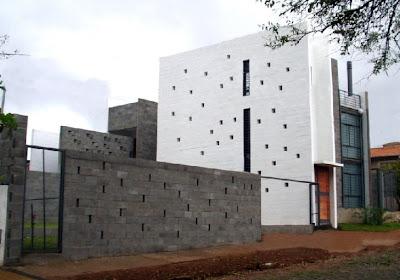 Casa residencial moderna en Paraguay
