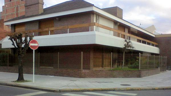 Casa diseño de chalet vista desde la ochava
