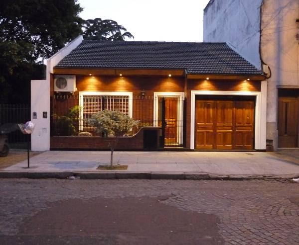 Arquitectura de casas la iluminaci n de la fachada - Iluminacion para casa ...