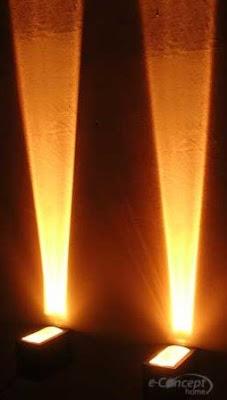 Focos de iluminación exterior