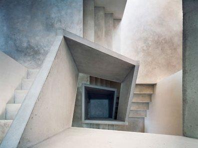Vivienda de diseño original minimalista en Suiza