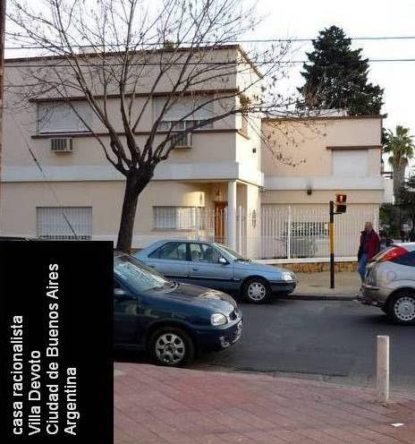 Arquitectura de casas casa moderna racionalista en for Casa moderna argentina