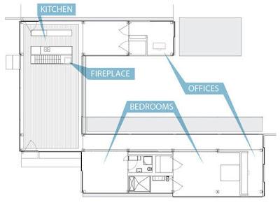 Arquitectura de casas casa transparente tipo glass house for Planos de casas norteamericanas