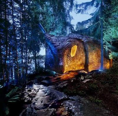 Casa de arquitectura orgánica