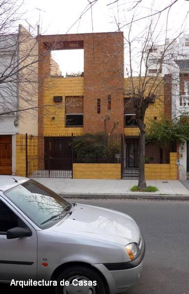 arquitectura de casas entre las medianeras