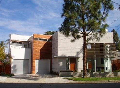 Arquitectura de casas casa contempor nea en los angeles - Casa los angeles ...