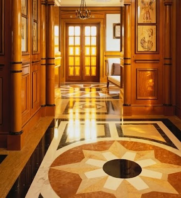 Interior de la mansión