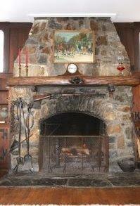 Stone fireplace - Photo from www.sxc.hu