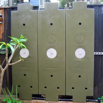 Uso exterior de los módulos cisterna