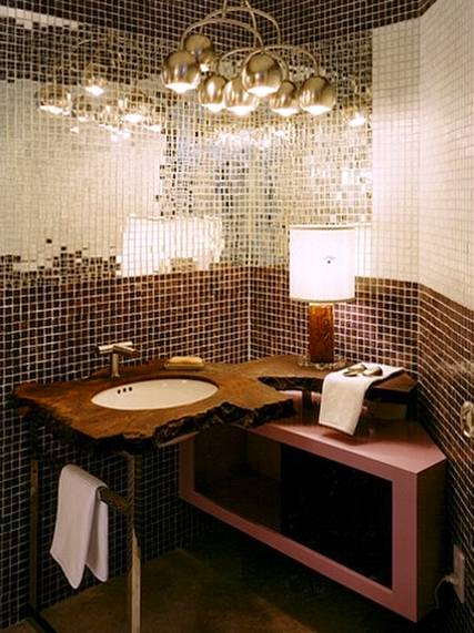Baño decorado