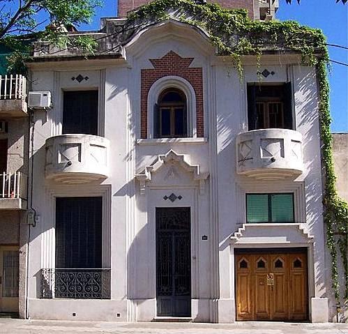 Arquitectura de casas casa residencial art dec en for Arquitectura rosario