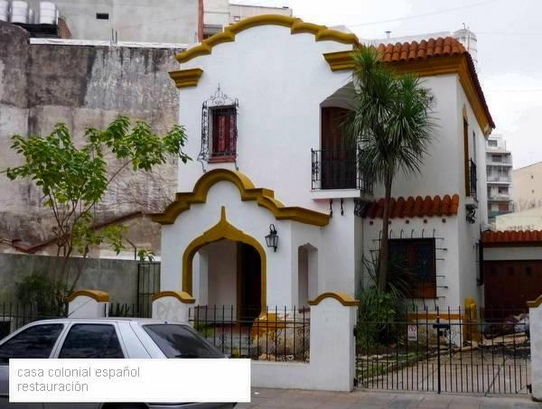 Arquitectura de casas restauraci n de una casa estilo for Estilos de apartamentos