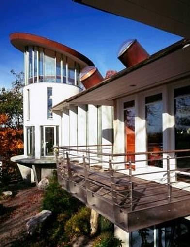 Arquitectura de casas casa con mirador usa - Arquitectura de casas ...