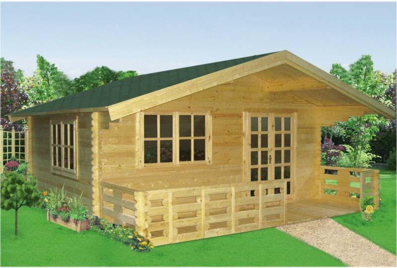 Arquitectura de casas casas prefabricadas de madera for Modelos de casas de madera de un piso