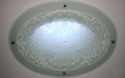 Iluminación decorativa con plafón de cielorraso