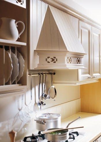Detalle clásico en cocina moderna