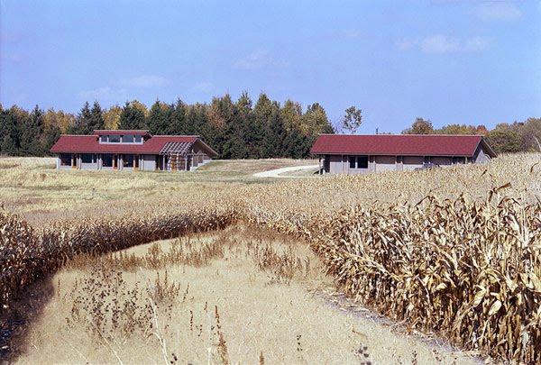 Casa de granjero en Wisconsin diseño contemporáneo