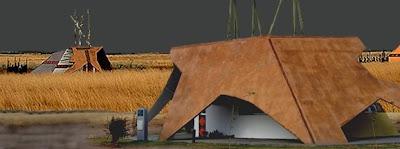 Arquitectura de casas viviendas primitivas en una versi n for Comedor comunitario definicion