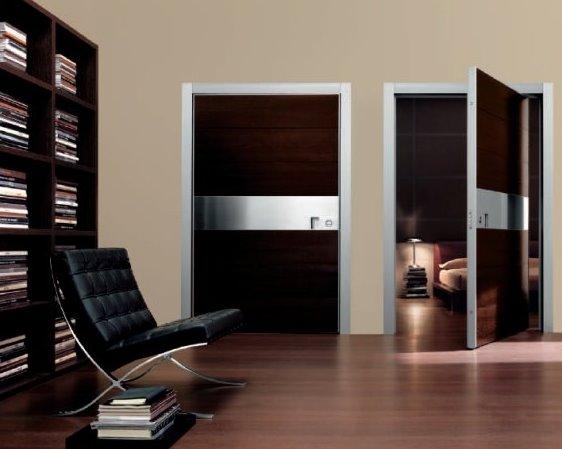 Puertas contemporáneas interiores italianas
