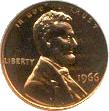 Penny moneda de 1 centavo