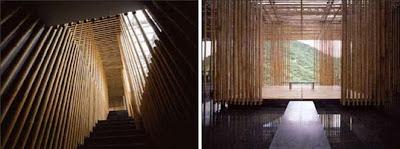 Transparencias con bambú