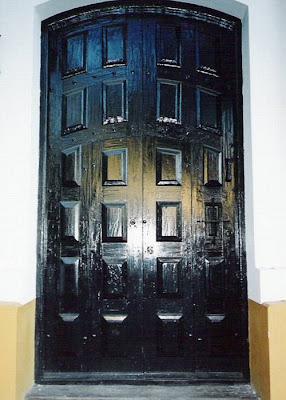 Puerta Colonial de madera