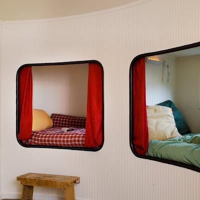 Cuchetas dormitorio