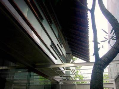 Sector abierto de la casa económica de Indonesia