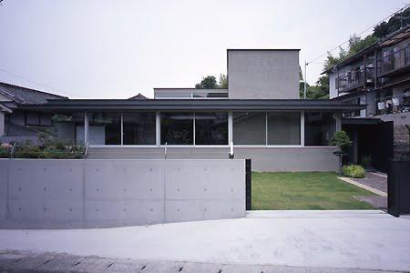 Casa residencial Minimalista en Japón