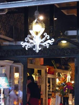 Artefacto de iluminación estilo Art Decó