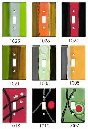 Tapas de interruptores de luz