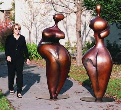 Esculturas grandes