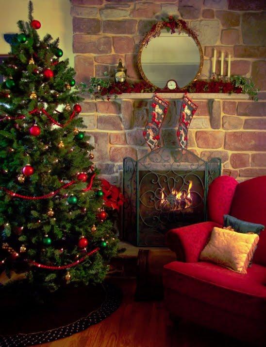 Arquitectura de casas consiga rboles de navidad por menos - Decoracion casa en navidad ...
