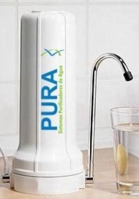 Filtro de agua potable