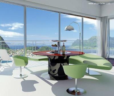Mesa de comedor moderno diseño
