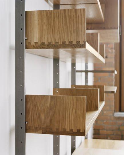 Arquitectura de casas estanterias met licas para interiores - Estanterias metalicas de diseno ...