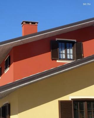 Sol sobre casa