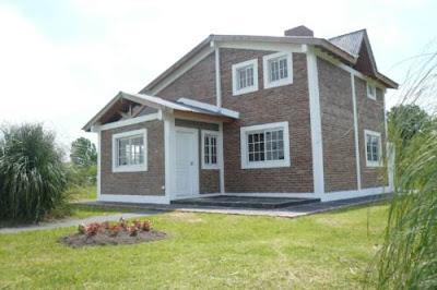 Casa nueva residencial de concreto