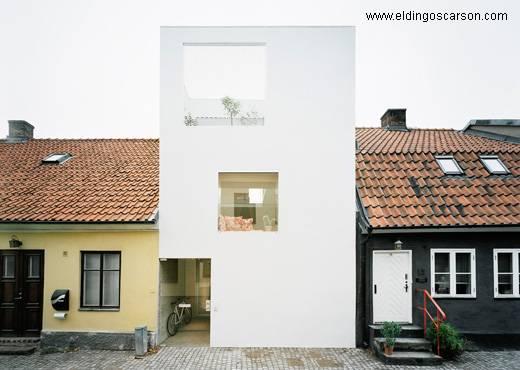Casa de arquitectura minimalista