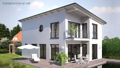Casa prefabricada moderna europea