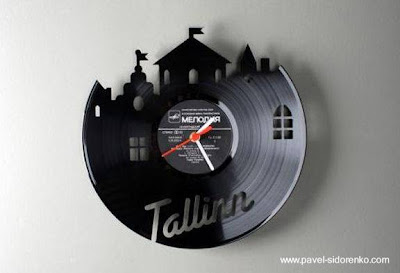 Reloj de pared para decoración