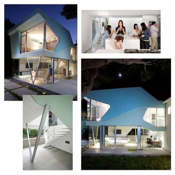 Arquitectura de casas una casa futurista con mucha luz for Casas futuristas
