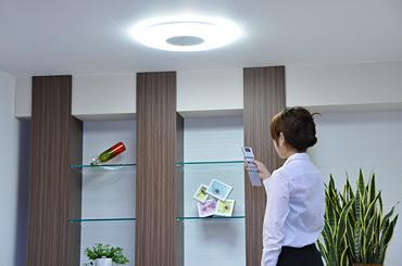 Luz control remoto