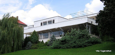 Villa Tugendhat casa de arquitectura Moderna