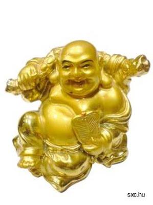 Buda dorado de feng Shui