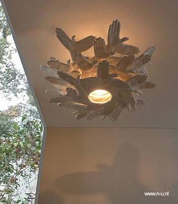 Lámpara de diseño para interiores