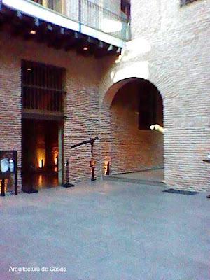 Un patio en la casa Los Patios del complejo El Zanjón