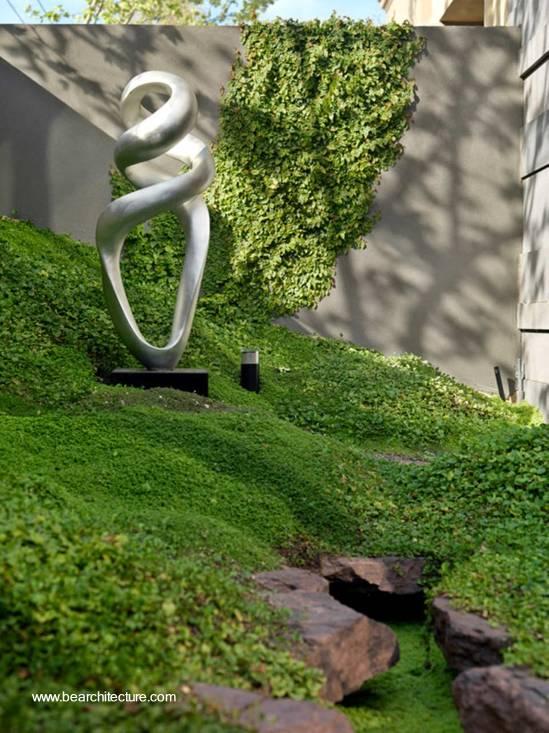 Arquitectura de casas escultura de jard n - Esculturas para jardines ...