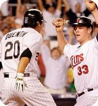 Carlos Quentin and Justin Morneau, together at last.