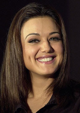 Preity Zinta Beautiful Smiling Photo
